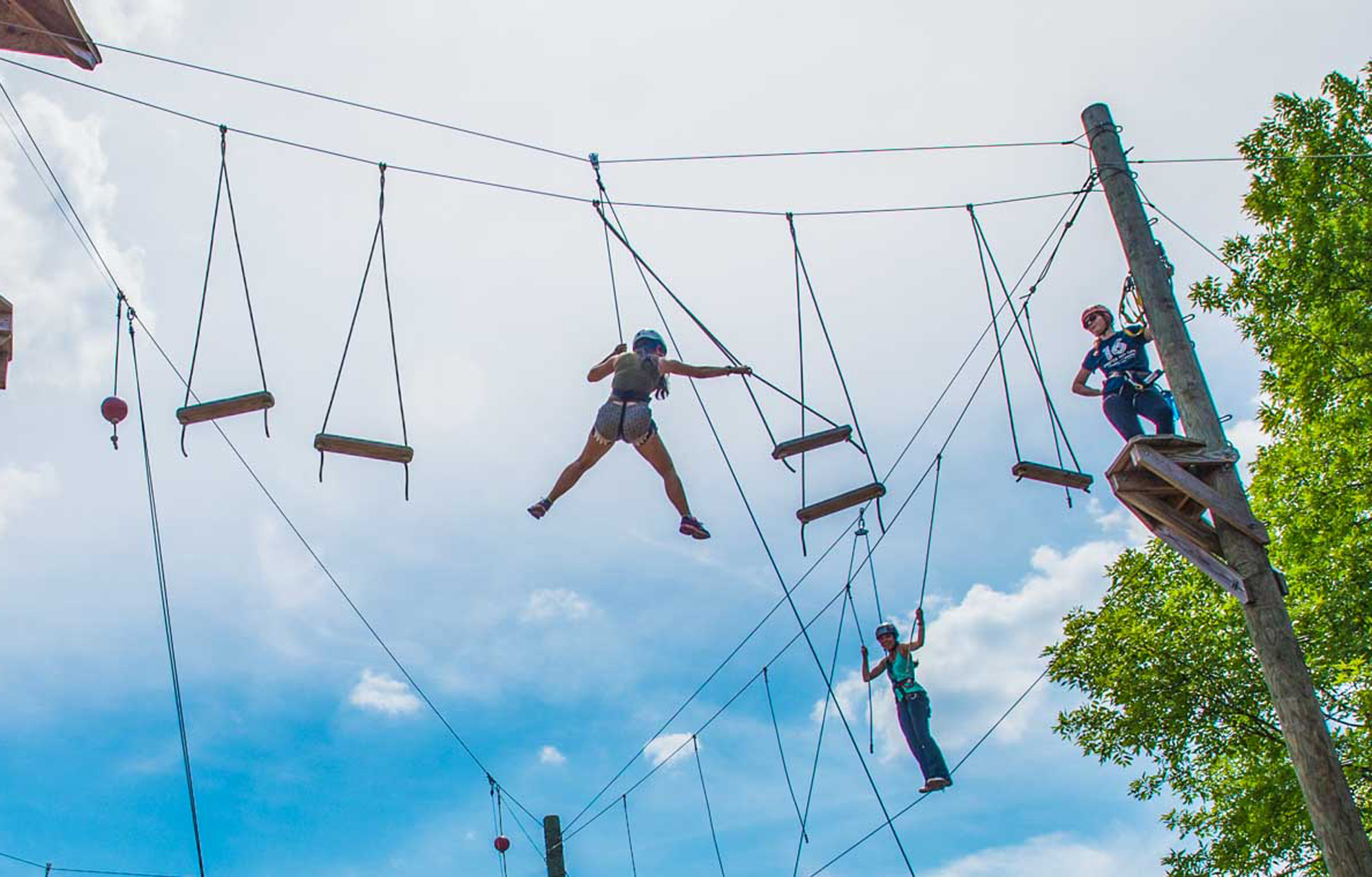 High Ropes Course - Mobile